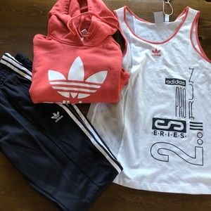 Three piece set Adidas